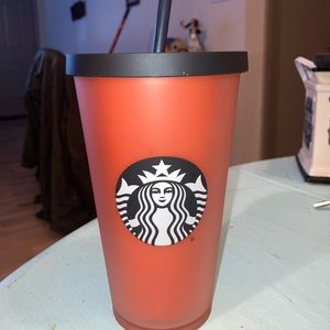 Starbucks Grande Orange matte tumbler